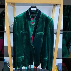 Haider Ackermann Velvet Shirt Jacket
